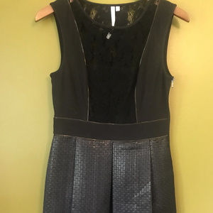 Rachel Roy Black Modern Gladiator Dress